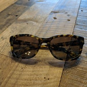 Tory Burch Tortoiseshell Polarized Sunglasses